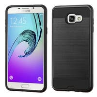 Insten Dual Layer Hybrid Rubberized Hard PC/ Silicone Case Cover For Samsung Galaxy A7 2016 Version