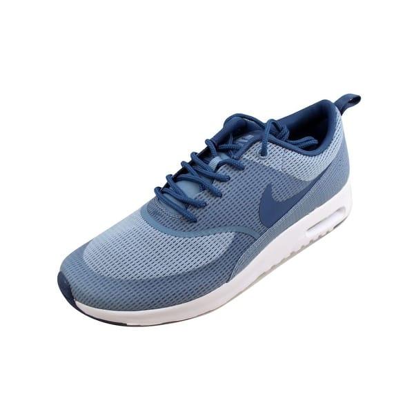chaussures de séparation bd5f1 36fce Shop Nike Women's Air Max Thea TXT Blue Grey/Ocean Fog-White ...