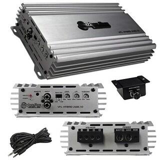 American Bass VFL26801D 2700 watt Max Class D Mono Hybrid Amplifier