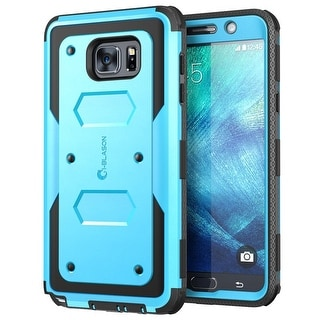 Galaxy Note 5 Case, i-Blason Armorbox Dual Layer Hybrid Full-body Protective Case For Samsung Galaxy Note 5-Blue