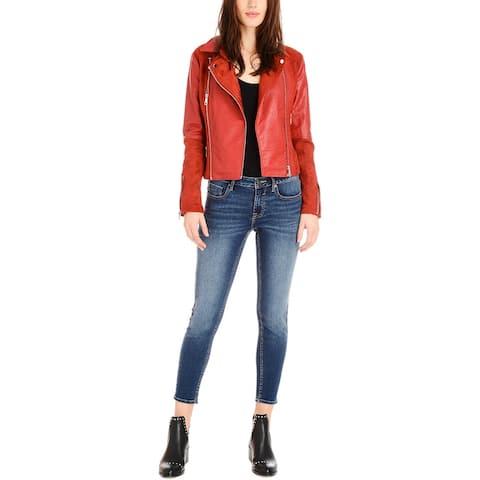 Vigoss Red Moto Jacket