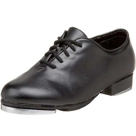 Kids Dance Class Girls Jazz Tap Low Top Lace Up Dance Shoes