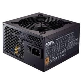 CoolerMaster Power Supply MWE BRONZE 600W Power Supply ATX 12V APFC SATA PCI Express 80 PLUS BRONZE Retail