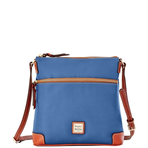 Dooney & Bourke Pebble Grain Crossbody (Introduced by Dooney & Bourke at $188 in Jan 2016) - Dusty Blue