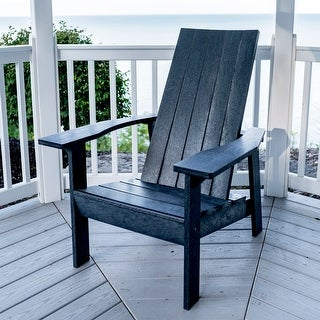 Link to Idria Casual Flatback Adirondack Chair by Havenside Home Similar Items in Outdoor Sofas, Chairs & Sectionals