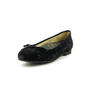 Propet Emma Round Toe Suede Flats