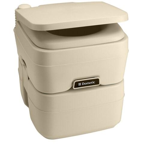 Dometic corporation dometic 965 msd portable toilet 5.0 gallon parchment 311196502