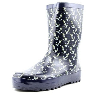 Joseph Allen Anchor Rain Boot Youth Round Toe Synthetic Rain Boot
