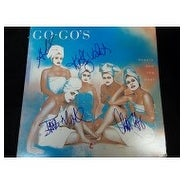 Signed Go Gos beauty and the beat beauty and the beat Album Cover No Album By Jane Wiedlin Charlott