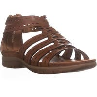 BareTraps Kaiser Strappy Flat Sandals, Brush Brown