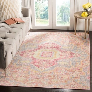 Link to Safavieh Windsor Romita Shabby Chic Oriental Polyester Rug Similar Items in Shabby Chic Rugs