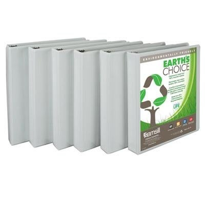 "Samsill - I08937 - Earthschoice Viewbind W 1"" 6Pk"