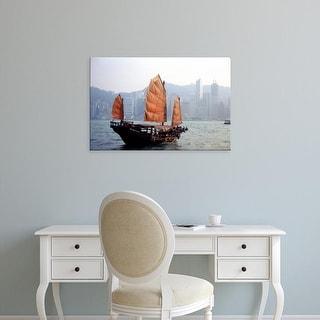 Easy Art Prints Russell Gordon's 'Victoria Harbour' Premium Canvas Art