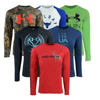 Under Armour Men's Heatgear Mystery L/S T-Shirt - Assorted