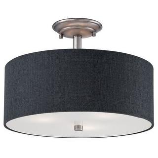 Millennium Lighting 3123 Jackson 3 Light Semi-Flush Ceiling Fixture