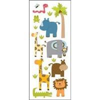 Zoo Friends - Sticko Puffy Classic Stickers