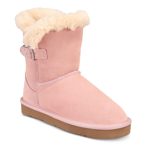 Style & Co. Womens Tiny 2 Closed Toe Ankle Cold Weather Boots