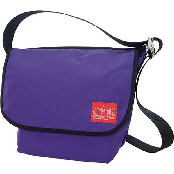 Shop Manhattan Portage Vintage Messenger Bag (Medium) Purple - us one size  (size none) - Free Shipping Today - Overstock.com - 11792419 b34b14145783d
