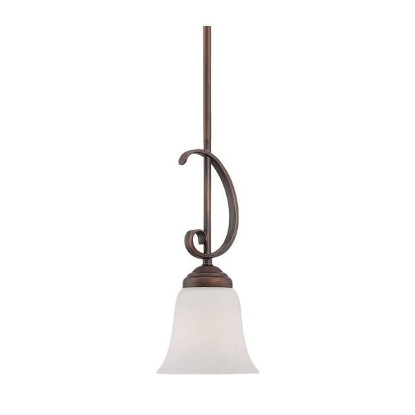 Millennium Lighting 3001 Kingsport 1 Light Mini Pendant - Rubbed bronze