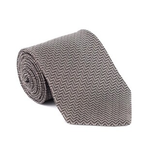 Tom Ford Mens Multiple Colored Geometric Stripped Silk Tie - no size