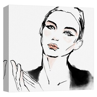 """PTM Images 9-124727  PTM Canvas Collection 12"""" x 12"""" - """"Elegant Sight"""" Giclee Women Art Print on Canvas"""