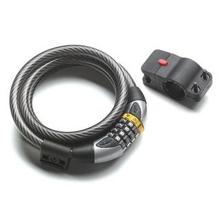 Serfas 15mm Combo Cable Bicycle Lock - CL-15