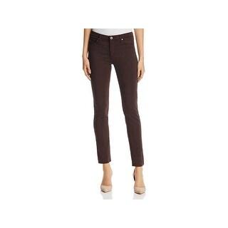 Adriano Goldschmied Womens Prima Cigarette Jeans Colored Mid-Rise