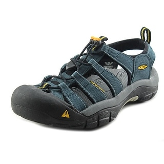 Keen Newport H2 Men Round Toe Canvas Blue Fisherman Sandal