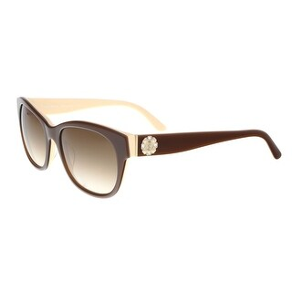 Juicy Couture - Juicy 587/S 0PC2 Brown Ivory Square Sunglasses - 53-19-140