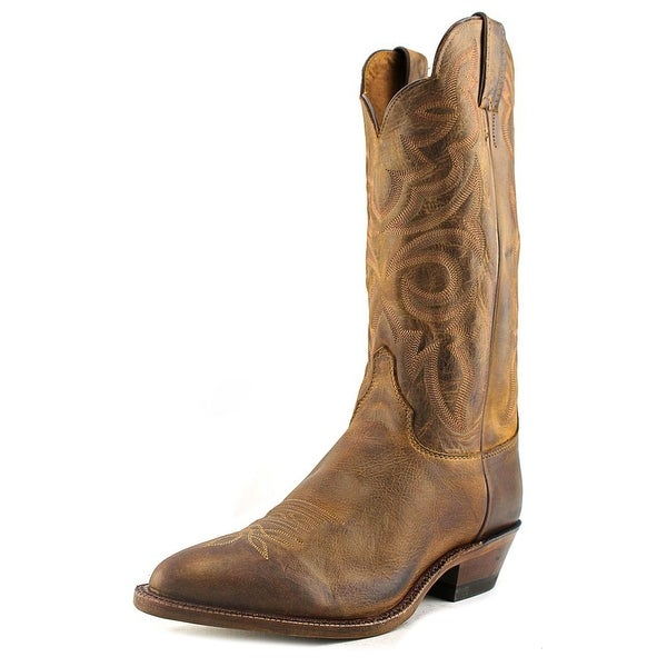 Justin Boots BRL431 Pointed Toe Leather Western Boot