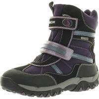 Geox Girls Alaska B Waterproof Winter Fashion All Weather Snow Boots
