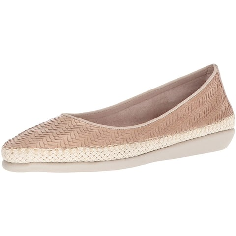 The FLEXX Womens Torri Closed Toe Slide Flats