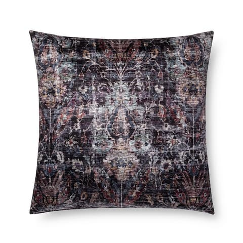 Alexander Home Royal Moroccan Floral Throw Pillow