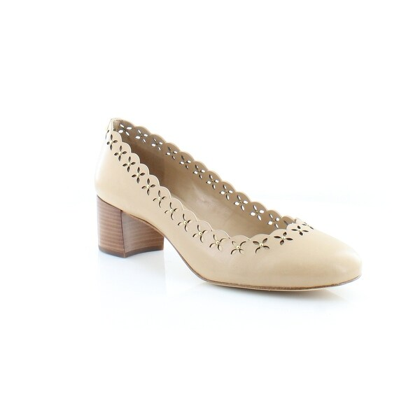Michael Kors Thalia Pumps Women's Heels Toffee - 8.5