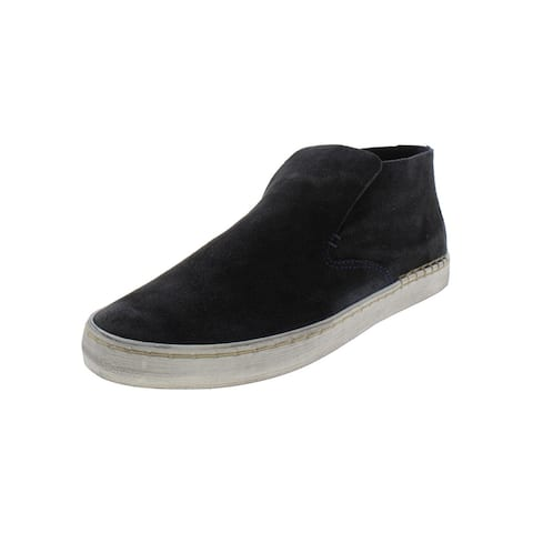 Dolce Vita Womens Zoya Slip On Shoes Suede Mid Top