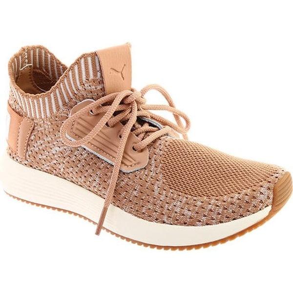 Shop PUMA Women s Uprise Knit Sneaker Dusty Coral Whisper White Gum ... 49a58f776