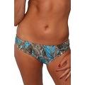 Women's Blue Camo Authentic True Timber Basic Bikini BOTTOM ONLY Beach Swimwear - Thumbnail 0