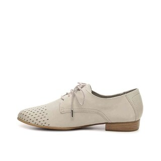 Tamaris Womens NUBUCK OXFORD NuBuck Closed Toe Oxfords