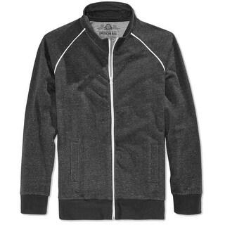 American Rag NEW Black Heather Mens Size XL Full Zip Track Jacket