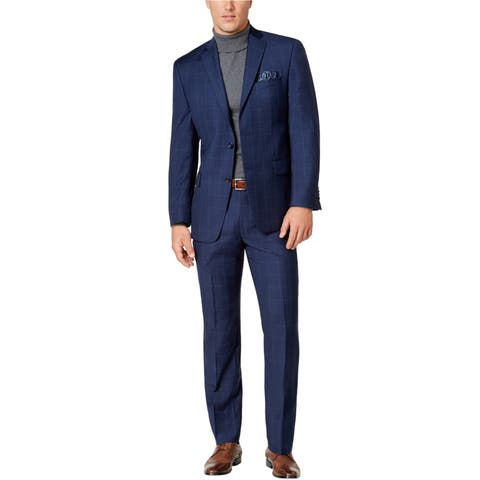 Michael Kors Mens Windowpane Tuxedo