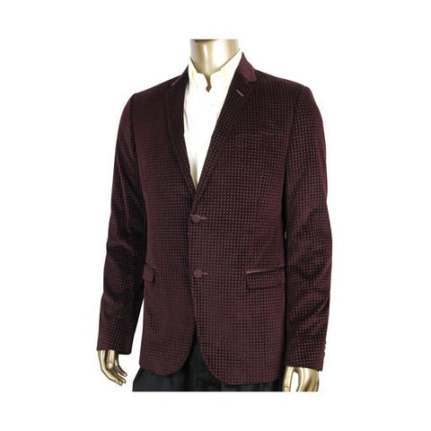 Gucci 2 Buttons Square Evening Wine Printed Cotton Elastane Stretch Jacket 322626 6250