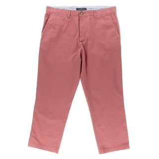 Tommy Hilfiger Mens Custom Fit Low-Rise Chino Pants