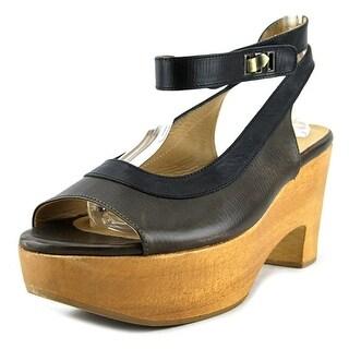 Ellen Verbeek Palm Ice   Open Toe Leather  Sandals