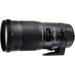 Sigma 180mm f/2.8 APO Macro EX DG OS HSM Lens (for Canon) - Black