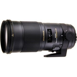Sigma 180mm f/2.8 APO Macro EX DG OS HSM Lens (for Canon) - Black