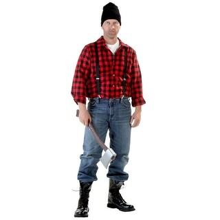 Plus Size Lumberjack Costume