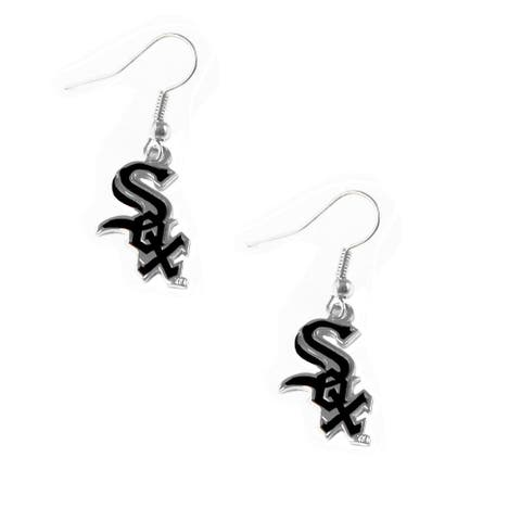 MLB Sports Team Logo Chicago White Sox Earring Dangle Logo Charm