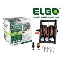 Elgo ELDNR Portable 2 Dripline Reel System Irrigation Kit