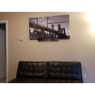CATeyes 'Brooklyn Bridge 5' Canvas Wall Art