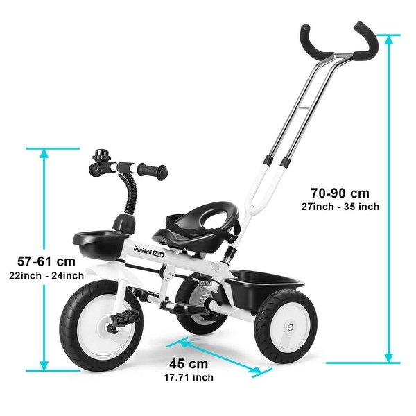 Toddler Tricycles Trolley Seat - M